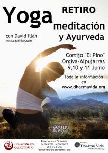 Retiro de Yoga, meditación y Ayurveda en junio, Alpujarras