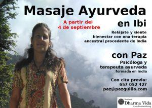 Masaje Ayurveda en Ibi