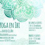 clases de #YogaconDavid en Ibi-Alicante