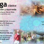 Retiro de Yoga clásico, meditación y Ayurveda en febrero, Alpujarras-Granada