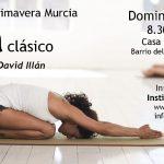 Retiro-taller de Yoga clásico, abril, Murcia