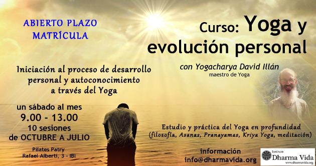 Curso Yoga y evolución personal