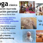 Retiro de Yoga y evolución personal, noviembre, Alpujarras
