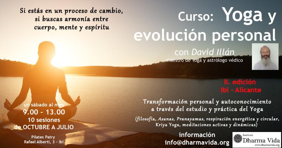 curso yoga y evolución personal 2 edición